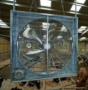 Hanging Non-Shuttered 1000mm 230 Volt 1 Phase Belt Drive Fan