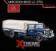 CMC M-144 1:18 MERCEDES-BENZ RACE CAR TRANSPORTER LKW LO 2750