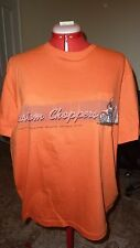 Custom Choppers XL T Shirt with the hot biker chic