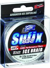 NEW Sufix 832 Advanced Ice Braid 8lb Test 50yd Ghost 671-010GH