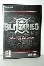 BLITZKRIEG STRATEGY COLLECTION USATO OTTIMO PC DVD VERSIONE ITALIANA GD1 39702