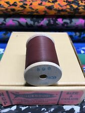 Gudebrod  Fishing Rod Winding thread Ncp  Size  A.   Dark Brown  396.  1 Spoo.