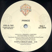 """PRINCE 12"""" Purple Medley Edit / EXTENDED 11:00 USA PROMO Only UNPLAYED rare"""