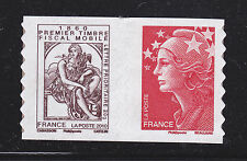 FRANCE AUTOADHESIF N°  507 ** MNH Paire P507 H1, Timbre fiscal Cabasson, TB