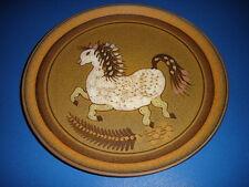 KMK Kupfermühle Keramik Hohenlockstedt Sammelteller Wandteller Pferd pottery
