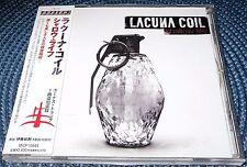 LACUNA COIL - SHALLOW LIFE JAPAN OBI PROMO
