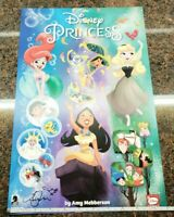 Disney Princess Poster SIGNED by Amy! Ariel Pocahontas Aurora Dark Horse Comics