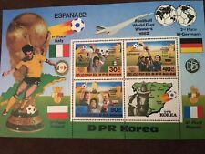Korea Scott #2226 ESPANA82 Football World Cup Winners 1982 Set of 4 Stamps