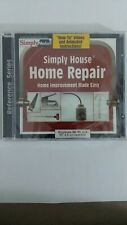 Simply House HOME REPAIR - Home improvement made EASY! (Windows) CD-ROM