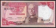 Angola 1972 20 Escudos Banco de Angola  CU Pk-99