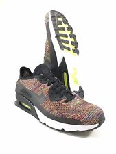 Nike Air Max 90 Ultra 2.0 Flyknit Multi Color Men's Size 10 Shoes 875943 002 NEW