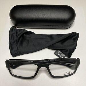 Oakley Airdrop OX8046-0157 Satin Black Eyeglasses 57mm NEW