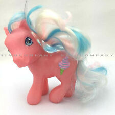 Boys Girls Kids Toy 4.5 inches 2002 PINK ICE CREAM MY LITTLE PONY FIGURE DOLL