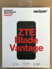 BRAND NEW SEALED ZTE Blade Vantage 4G LTE Verizon Prepaid phone