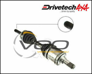 DRIVETECH 4X4 LEFT/RIGHT CV DRIVESHAFT ASSEMBLY FITS LEXUS LX470 UZJ100R