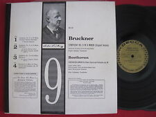 BRUCKNER BEETHOVEN - JOCHUM/LEHMANN - ANDOR FOLDES  2 LP DECCA GOLD DL 9847 9848