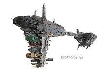 Bauanleitung MOC für Nebulon B Fregatte inkl Teileliste  (keine Steine)