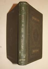 Précis de la campagne de 1859 en Italie. Avec 8 croquis dans le texte. Bruxelles