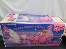Vintage Hasbro Sindy Doll Fairy Carriage in box. 1993 with Horse.