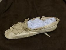 Single Georgian Era antique lady's shoe, about 1810s-1830s