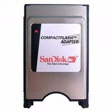 Sandisk CF to PCMCIA Compact Flash Card Reader Adapter for Laptop