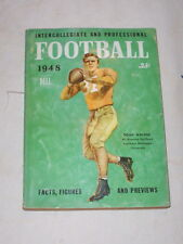"1948-DELL ""FOOTBALL"" INTERCOLLEGIATE & PROFESSIONAL FACTS/FIGURES/PREVIEWS"