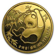1985 China 1 oz Gold Panda BU (Not Sealed) - SKU #10921
