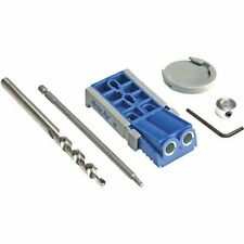 Kreg Jig Pocket Hole System Woodworking Home Repair Tools Kit Carpenter Joinery