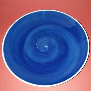 KPM - Berlin dekorative Schale mit Spiraldekor in Kobaltblau