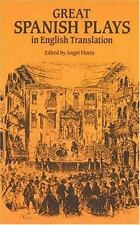 Great Spanish Plays in English Translation  Paperback
