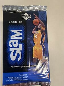 2000-01 Upper Deck BK Slam Pack (Michael Jordan Kobe Bryant Auto Signatures)?