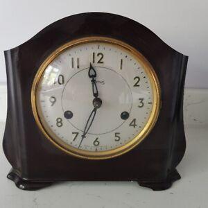 Smiths Vintage Antique Bakelite Chiming Mantel Clock