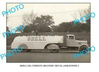 OLD 8x6 PHOTO OF SHELL OIL Co TRUCK c1940 SYDNEY 2