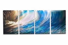 Abstract Metal Wall Art- Contemporary Modern Decor Original Wave