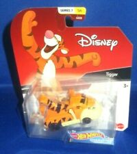 DISNEY SERIES 7 WINNIE THE POOH TIGGER #5 HOT WHEELS COLLECTOR CHARACTER CARS