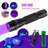 10W UV Ultra Violet LED Flashlight Blacklight Light 395 nM Inspection Lamp Torch