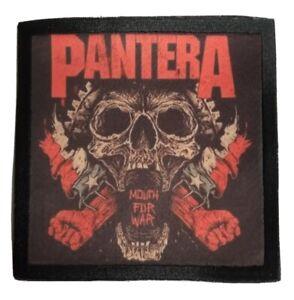 * PANTERA * sew on patch.band,rock,metal,merch tour,