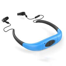 IPX8 Wasserdicht Halsband Musik MP3-Player FM-Radio Swimming Diving Schwimmen