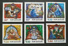 1999 New Zealand Christmas Celebration 6v Stamps Mint NH
