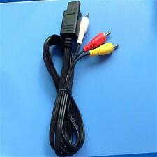 1pcs 1.8m RCA AV Cable De Audio Y Vídeo Para Super Nintendo Gamecube 64 N64 S[