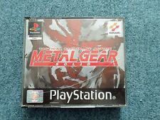 Sony PlayStation PS1 PSOne METAL GEAR SOLID Silent Hill Demo Konami Video Game