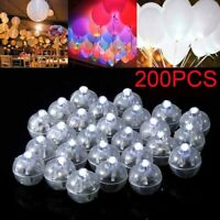 200pcs LED Ball Lamps Balloon Light for Paper Lantern Wedding Party Decoration