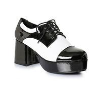 Ellie 312-FREDDY Men's Zoot Suit Gangster Costume Platform Saddle Shoe Loafer