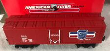 American Flyer #6-48316 Bar Bangor and Aroostook Reefer Car Boxed