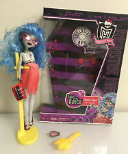 Monster High Dawn of the Dance Ghoulia Yelps Doll W/box Rare VHTF