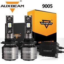 AUXBEAM 9005 HB3 LED Headlight 9145 Fog Lamps 70W 8000LM 6500K + Canbus Decoder