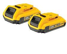DEWALT DCB183 2 Batteries 18V 2.0 Ah Lion = DCB105 DCS331 DCF886 DCS391 DCD795