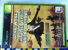 XBOX GAME STAR WARS CLONE WARS / TETRIS 2 IN 1 (ORIGINAL USED)