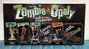 """""""Zombie Opoly"""" Board Game Zombieopoly Dead Horror Camp Monopoly Late for the Sky"""