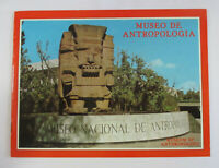 1970s Vintage Mexico City MUSEUM OF ANTHROPOLOGY Souvenir Photo Book Museo